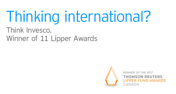 Think Invesco. Winner of 11 Lipper Awards
